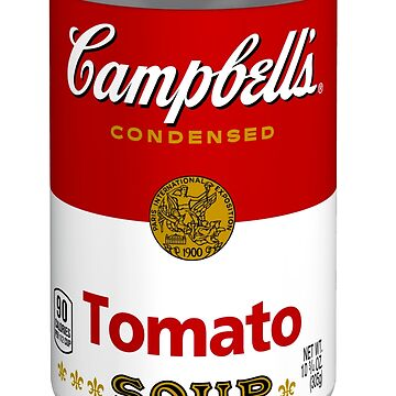 Campbells soup real photo realistic sticker by eddycasanta