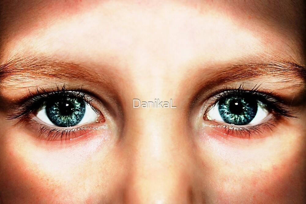 Cosmic Eyes by DanikaL