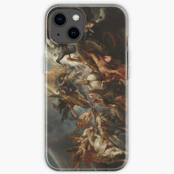 The Fall of Phaeton Oil Painting by Sir Peter Paul Rubens iPhone Soft Case
