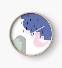 Nude pattern  Clock