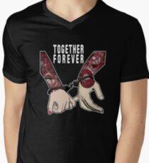 TOGETHER FOREVER Men's V-Neck T-Shirt