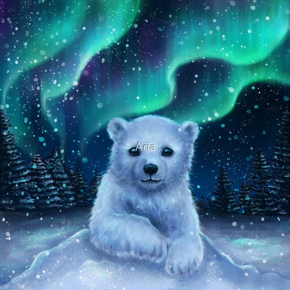 Eisbär von ARiAillustr