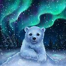 Polar bear by ARiAillustr