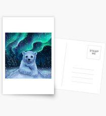 Eisbär Postkarten