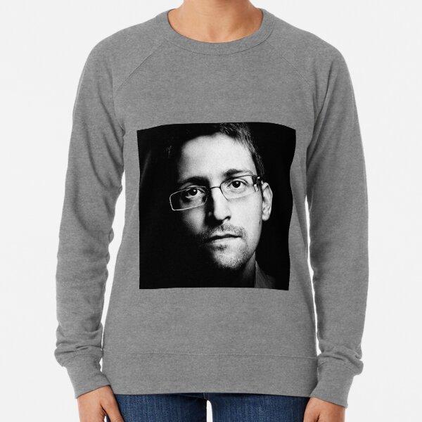 Edward Snowden Lightweight Sweatshirt