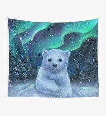 Eisbär Wandbehang