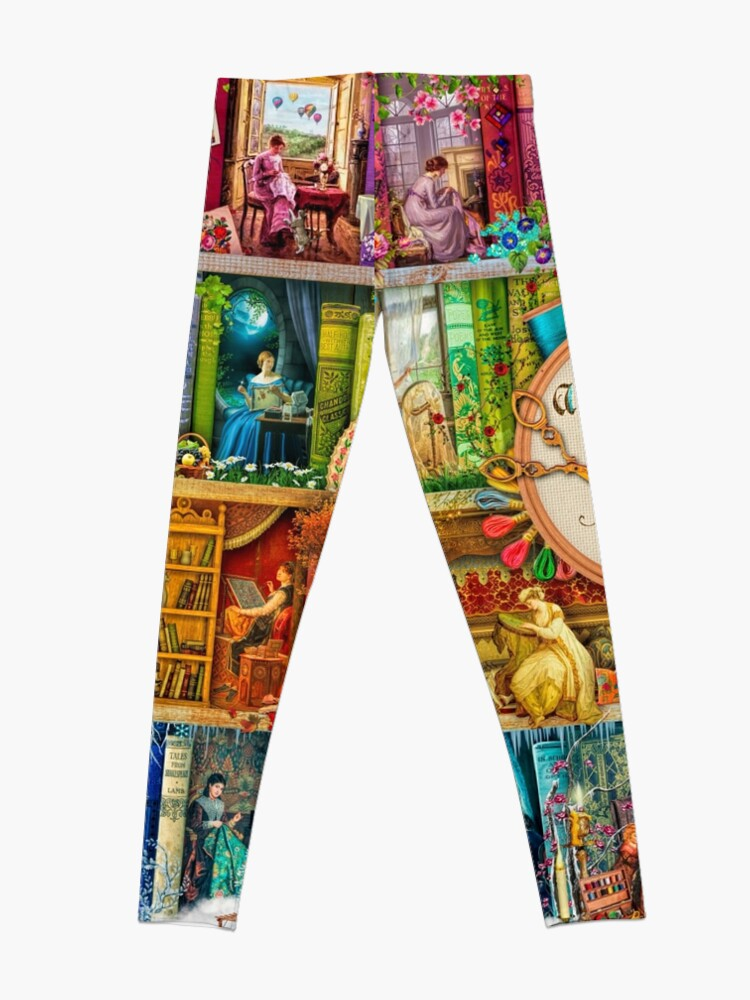 Alternate view of A Stitch In Time Leggings