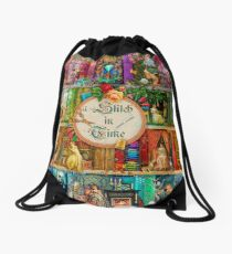 A Stitch In Time Drawstring Bag