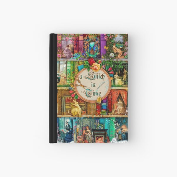 A Stitch In Time Hardcover Journal