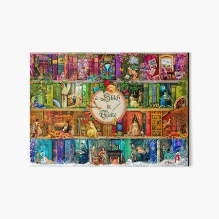 A Stitch In Time Art Board Print