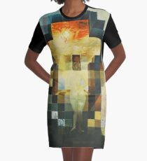 Lincoln in Dalivision- Salvador Dalí Graphic T-Shirt Dress