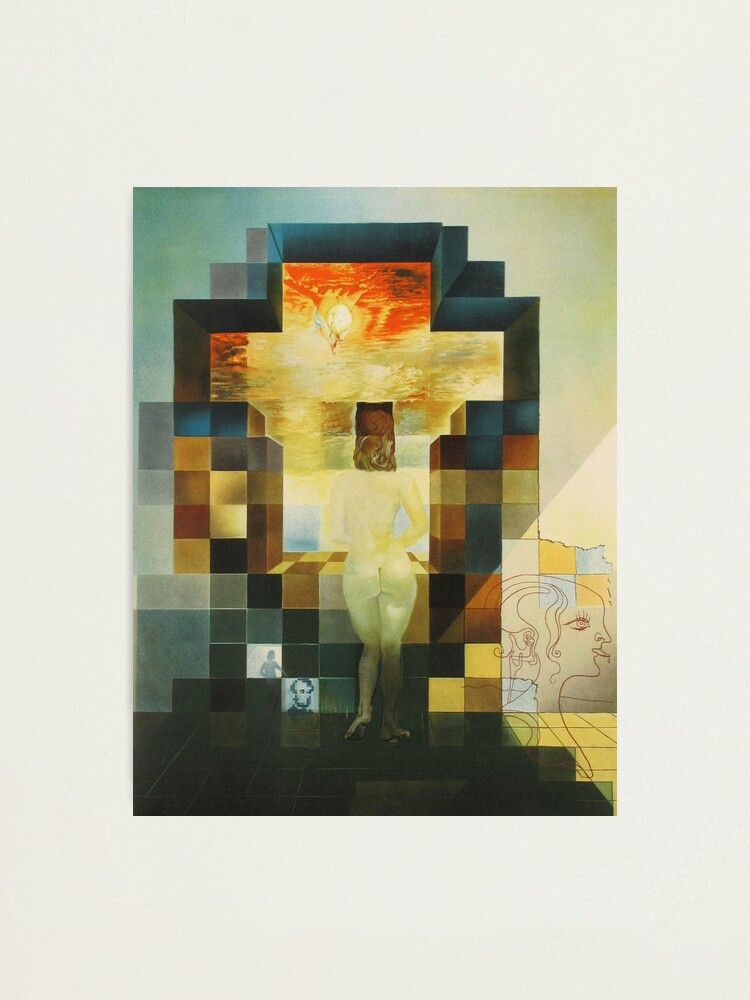 Alternate view of Lincoln in Dalivision- Salvador Dalí Photographic Print