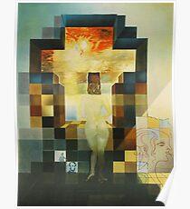 Lincoln in Dalivision - Salvador Dalí Poster