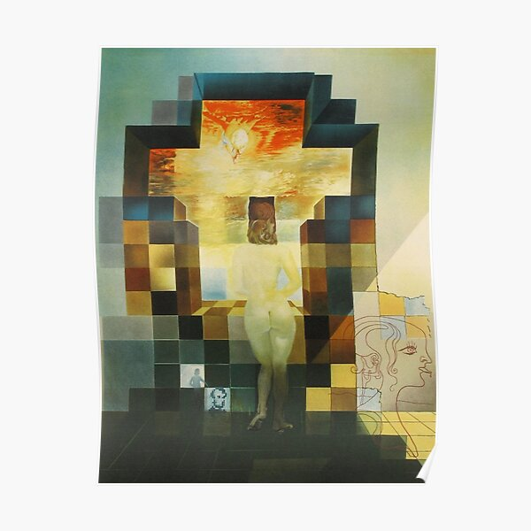 Lincoln in Dalivision- Salvador Dalí Poster