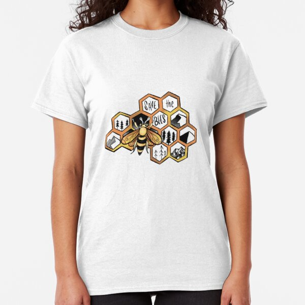 Save the Bees !! Classic T-Shirt