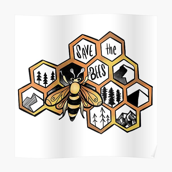 Save the Bees !! Poster