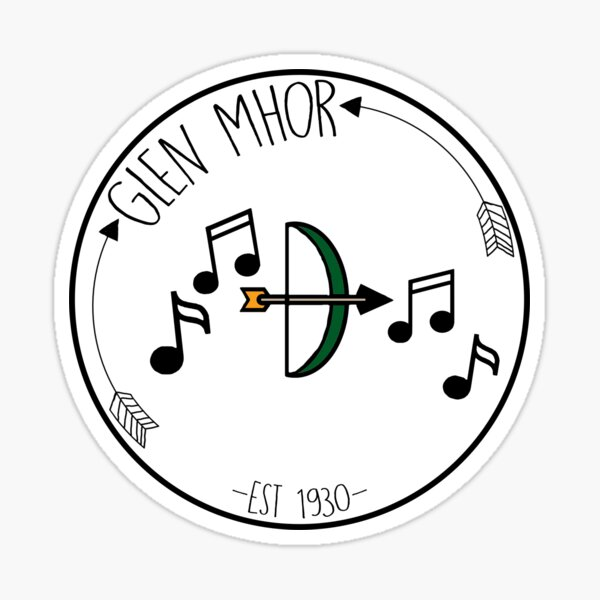 Glen Mhor Badge Sticker
