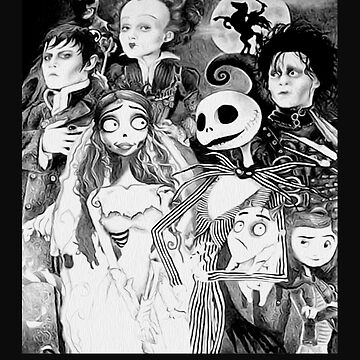 Never Underestimate a Woman who Loves Tim Burton Movies and was Born in December by yakoo21