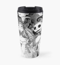 Never Underestimate a Woman who Loves Tim Burton Movies and was Born in December Travel Mug