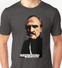 I am usually referred to as the Master. Universally. Unisex T-Shirt