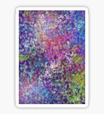 Abstract purple  Sticker