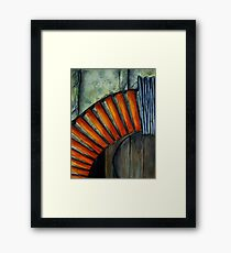 Drain Vent - Watercolour Framed Print