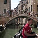 Europe on Tour - Venetian canal and bridge by chijude