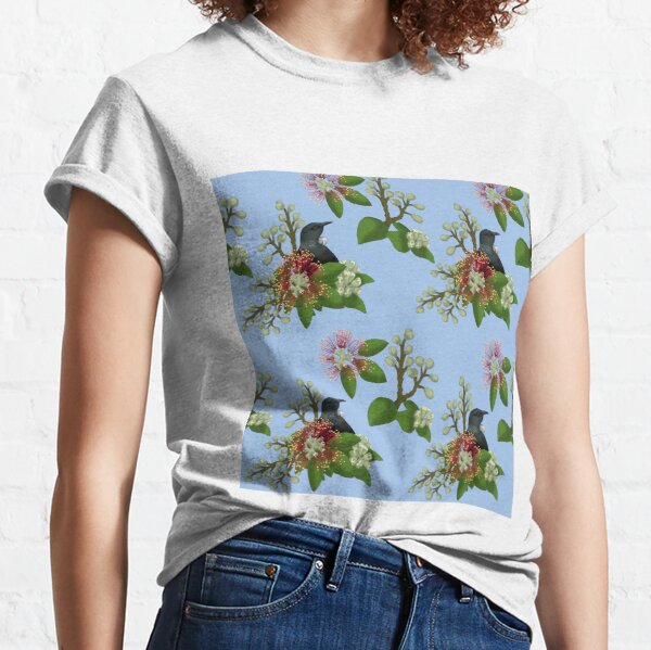 Tui in Pohutukawa Classic T-Shirt
