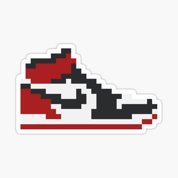 8-bit Jordan 1s Sticker