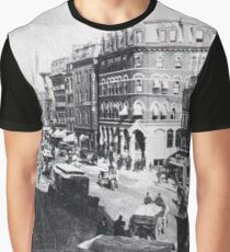 Historical cityscape Graphic T-Shirt