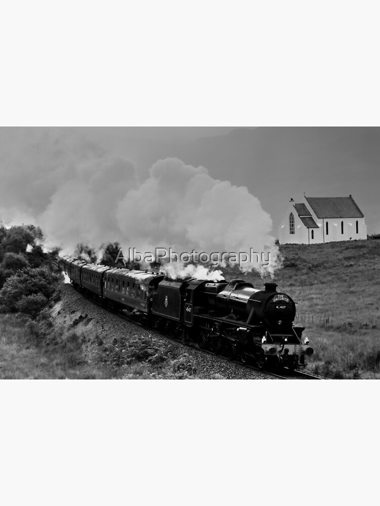 The Jacobite Steam Train, Polnish, Scotland. by AlbaPhotography