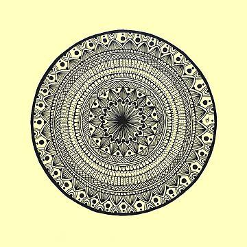 1 of 365 mandala by kreativcorner