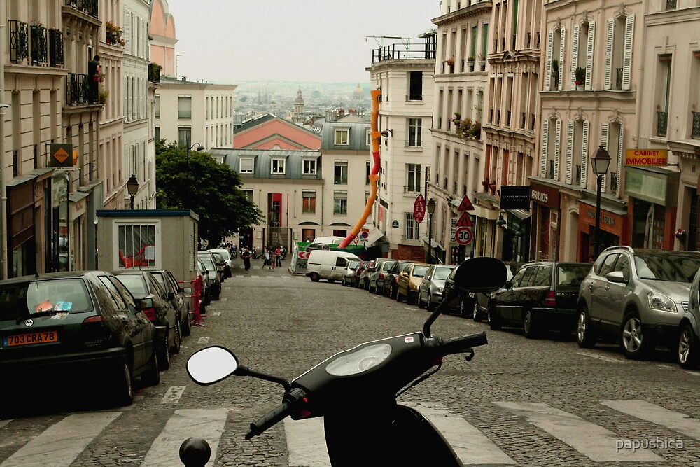 Montmartre by papushica