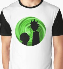 Rick and Morty Cartoon - Geek Gift Graphic T-Shirt