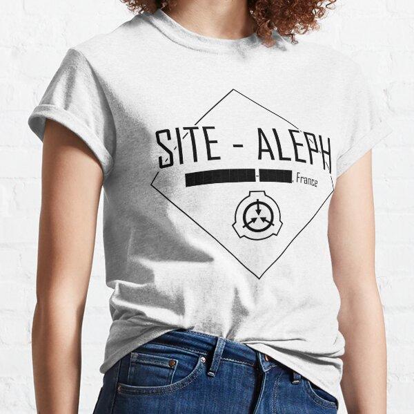 SCP Foundation T-Shirt V/êtements /à Manches Courtes T-Shirt /à Manches Courtes color/é et Simple Unisexe