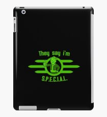 They Say I'm Special! - Fallout iPad Case/Skin