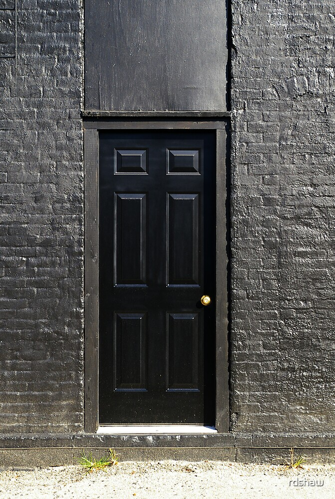 The Black Door by rdshaw