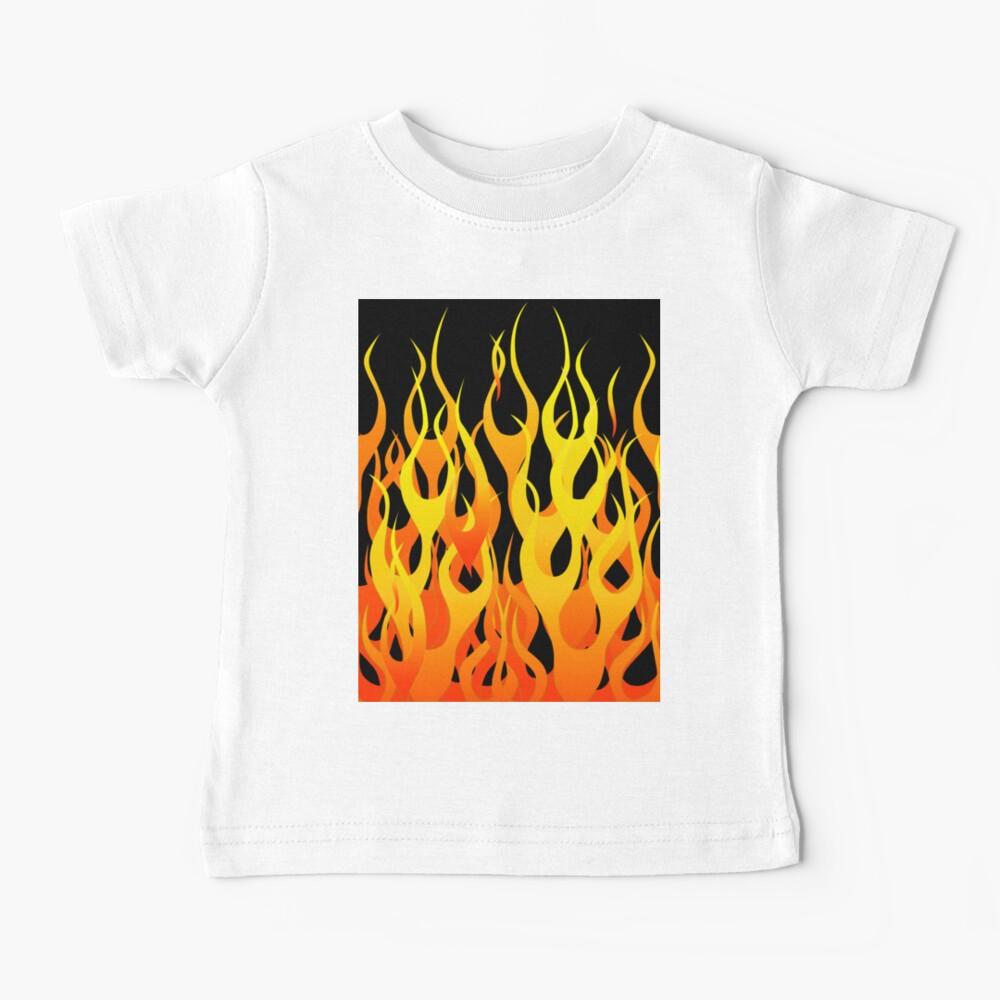 Racing Flames Baby T-Shirt