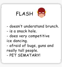 Flash  Sticker