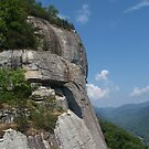 Chimney Rock State Park View by Anna Lisa Yoder