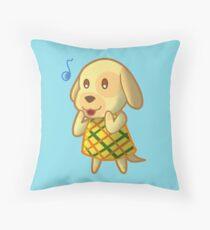 Goldie - Animal Crossing Throw Pillow