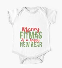 Merry Fitmas  Christmas  Happy New Year   Fitness on Holiday  Gym Addict  Happy New Rear-01 T-Shirt Sweater Hoodie Iphone Samsung Phone Case Coffee Mug Tablet Case Gift Kids Clothes