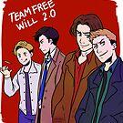 Team Free Will 2.0 by hellredsky