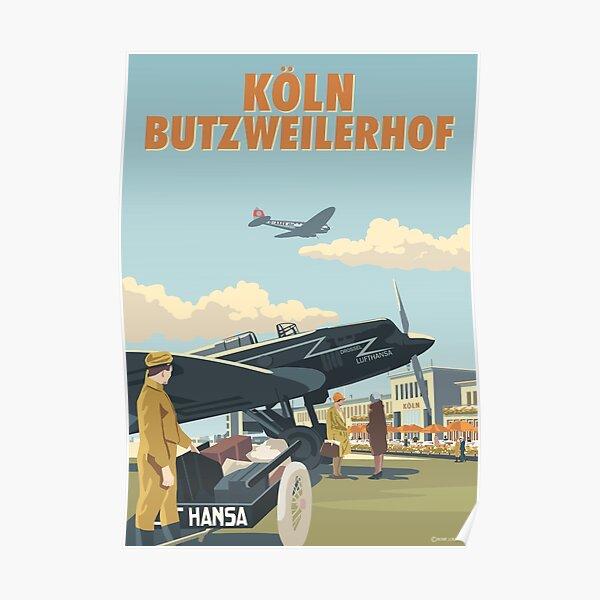 Cologne (Köln Butzweilerhof) Airport by Rosie Poster