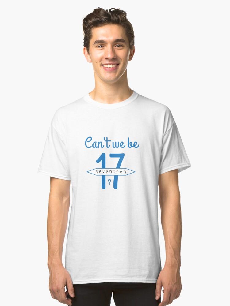 Seventeen Classic T-Shirt Front