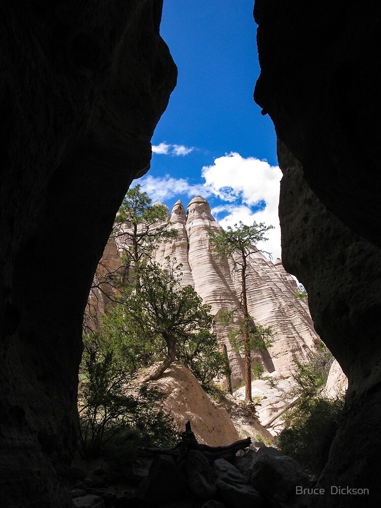 tent rocks 1 by Bruce  Dickson