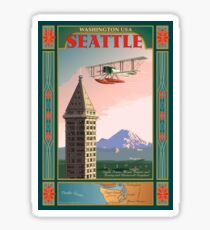 Seattle Icons Sticker