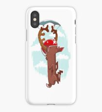 Rudolf - Santa's little helper iPhone Case/Skin