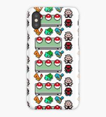 Pokemon, choose your starter iPhone Case/Skin