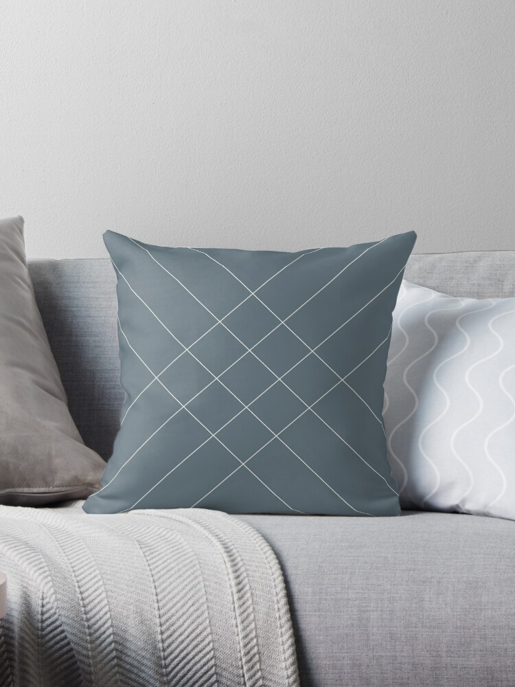 Stripes concept faded indigo by Basalt Interior